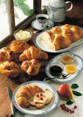 Süßes Osterfrühstück Foto: www.ostermenue.de