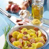 Kartoffelgerichte: Kartoffelsalat mit Wiener