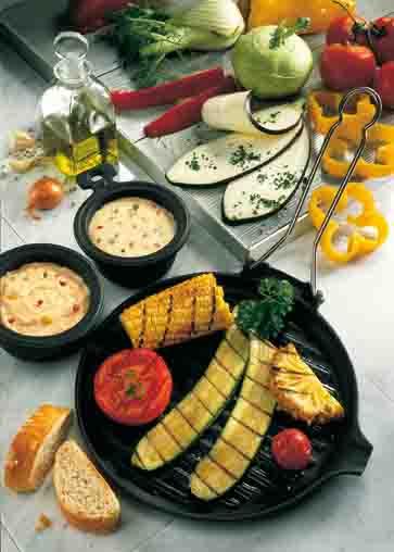 Vegetarische Spezialitäten vom Grill Foto: Wirths PR