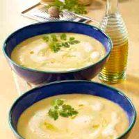 Kartoffelgerichte: Kartoffelschaumsuppe mit Trüffelöl