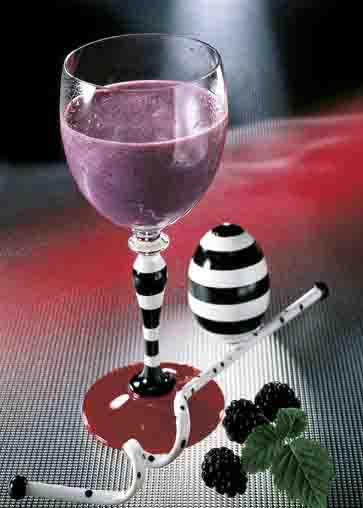 Sommer-Drinks: Brombeer-Smoothie Foto: Wirths PR