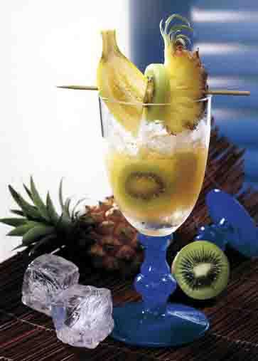Sommer- Drinks: Sunrise Vitamin Foto: Wirths PR