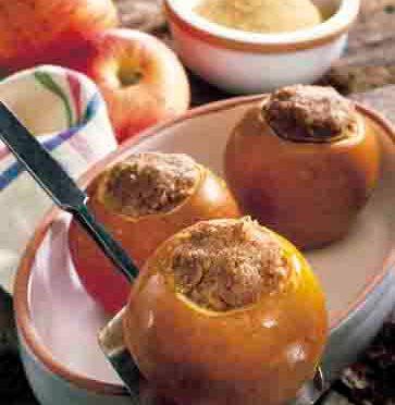 Apfel-Rezepte: Bratäpfel mit Nussfüllung Foto: www.weihnachtsmenue.de