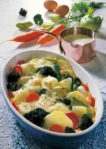 Kohl-Rezepte: Gemüseauflauf Foto: Wirths PR