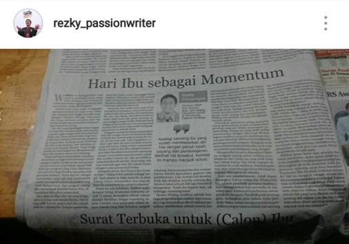 Hari Ibu Rezky - Riau Pos