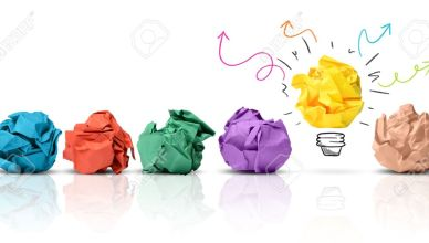 23215243-Concept-of-idea-with-colorful-crumpled-paper-Stock-Photo-innovation-idea-creative