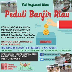 FIM Riau Peduli Banjir
