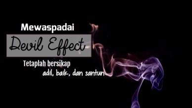 Devil effect