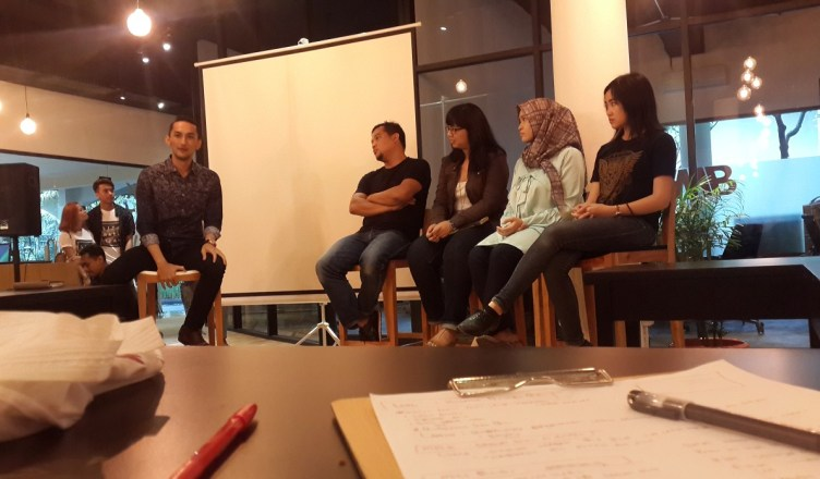 Diskusi di Literaturia tentang Literasi