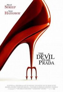 Wednesday Double Feature - Fashion the devil wears prada poster