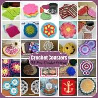Crochet Coasters ~ 25 FREE Crochet Patterns
