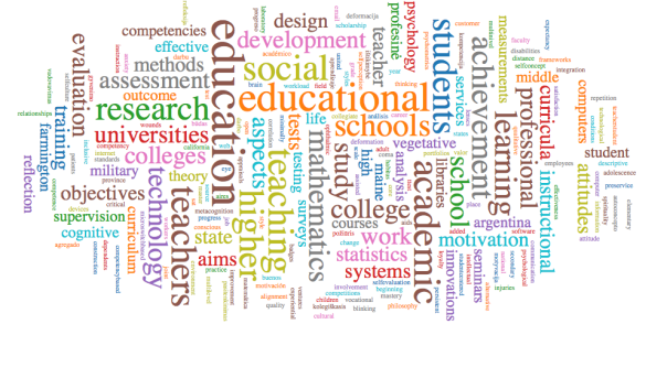 ccourses research group wordcloud