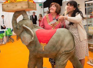 Mayor of Bolton Carole Swarbrick with Rose Dummer
