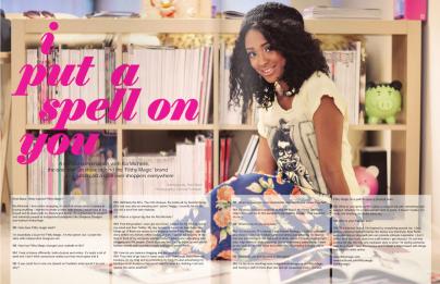 Brink Magazine Ria Michelle Filthy Magic
