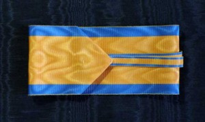 #AU035 - Royal Order of the Iron Crown - Ribbon for Commander type 1