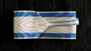 #ORSE005 – Order of the Saint Sava – Ribbon for class II (Grand Officer - 56 mm)– type 2