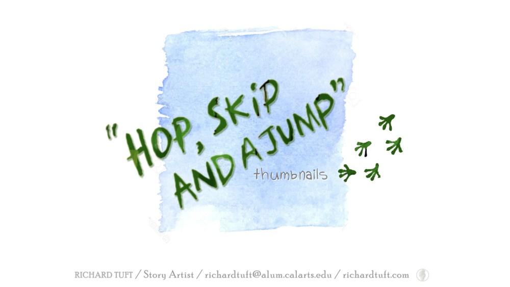 Hop Skip Boards Title (c) Richard Tuft
