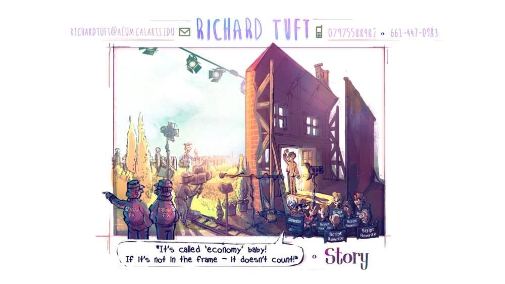 "Opening vignette to Richard Tuft's Story portfolio. Entitled ""Behind the frame"" (c) Richard Tuft"