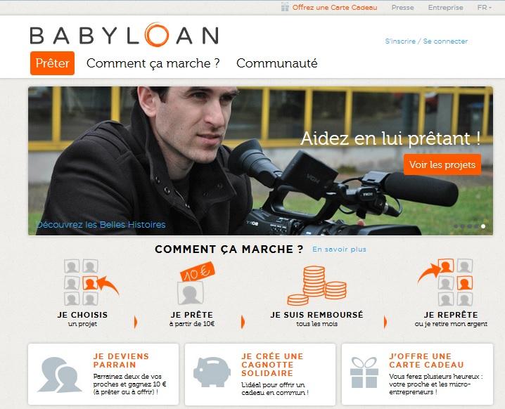menu babyloan