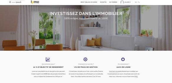 lymo crowdfunding corwdlending immobilier presentation