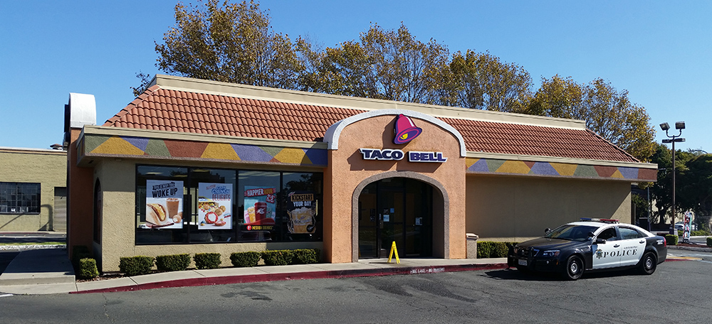 Swift arrest following Taco Bell robbery Tuesday after witnesses lead police to suspect