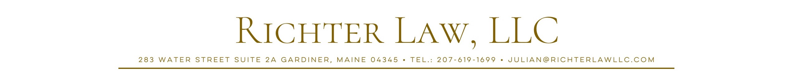 Richter Law Logo