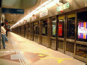 Estación Dhoby Ghaut en Singapur