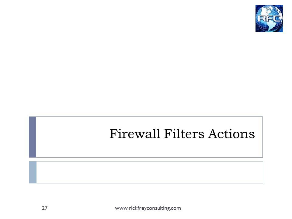 MikroTik Firewall Slide27