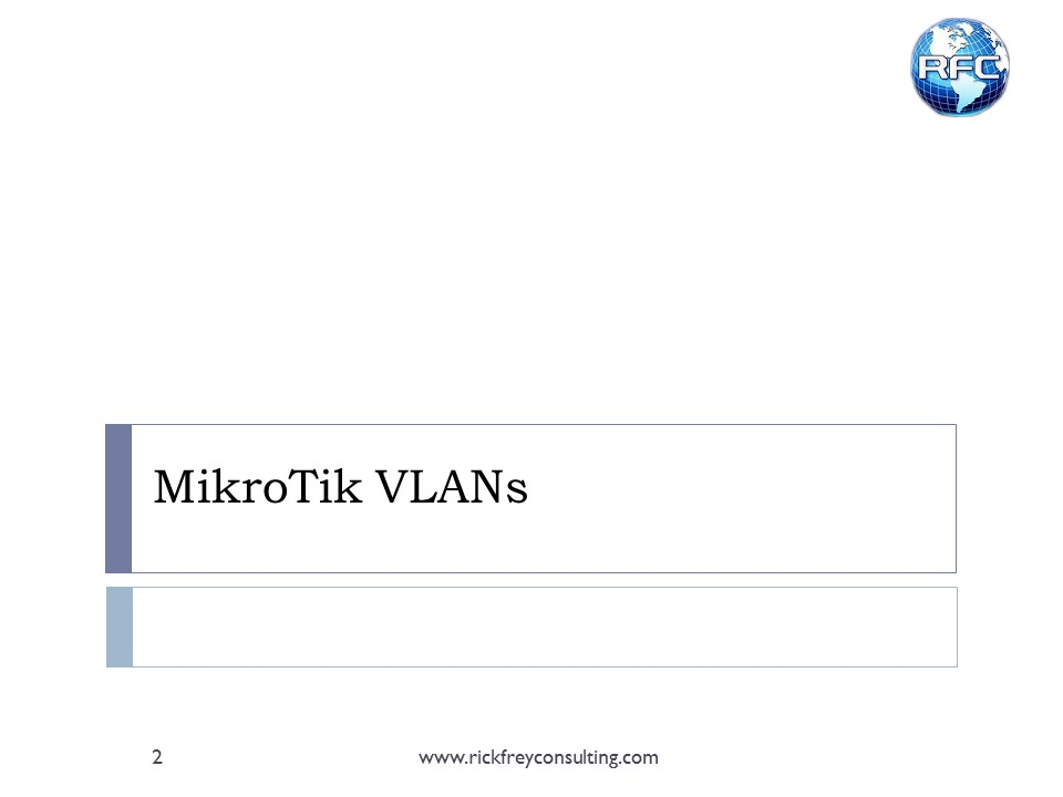 Using VLANs on RouterBOARDs (3)