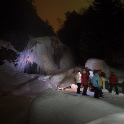 Night Snowshoeing