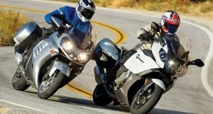 BMW K1600GT vs Kawasaki Concours