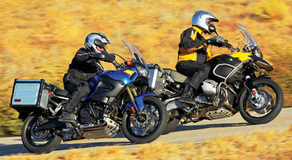 2011 Bmw R1200gs Adventure Vs 2012 Yamaha Super T 233 N 233 R 233
