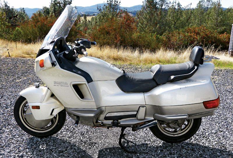 Honda Pc800 Pacific Coast 1989 90 1994 98 Rider