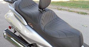 Corbin motorcycle seat