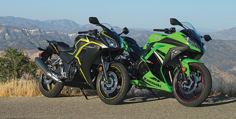 Comparison Honda Cbr300r Abs Vs Kawasaki Ninja 300 Abs