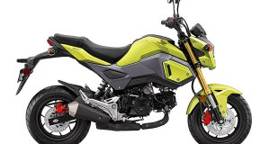 2017 Honda Grom in Bright Yellow