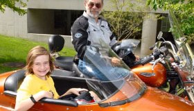 Stars like Andrew benefit from Ride For Kids. (Photo: Ride For Kids)