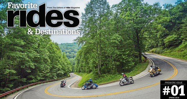 Favorite Rides & Destinations, issue #1