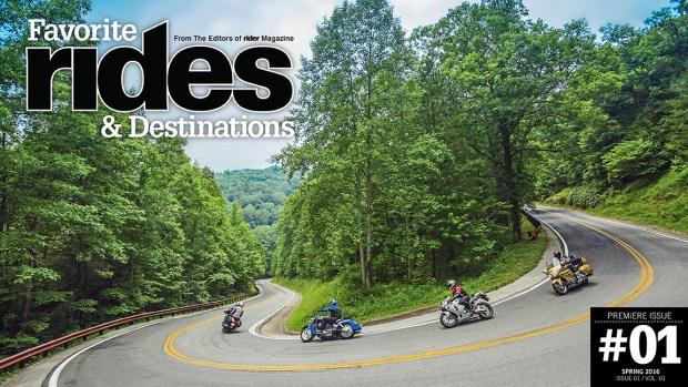 Favorite Rides & Destinations, issue #1
