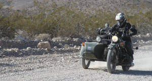 LA-Barstow-Vegas on a 2WD 2016 Ural Gear-Up.