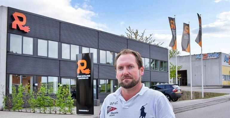 Risskov El installatør forretning hans peter hansen