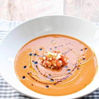 Gazpacho - kold spansk tomatsuppe