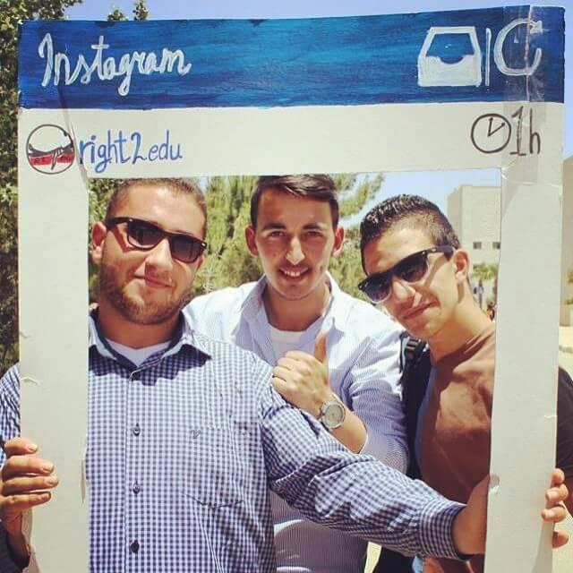 Tag yourself in our Birzeit University garden party Facebook photoshellip