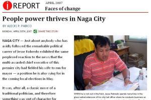 Jesse Robredo Naga City Mayor