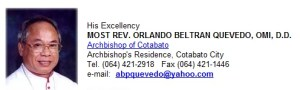 Cardinal Orlando Quevedo