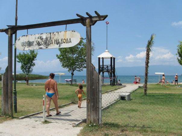 Strand Ohrid