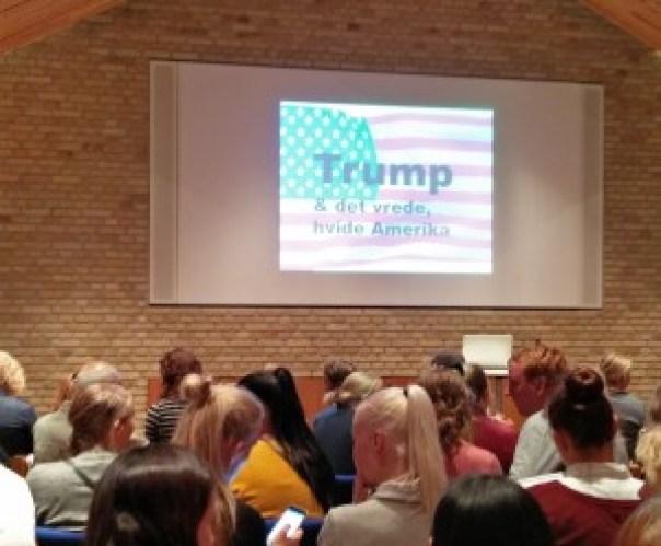 Foredrag om Trump i Studenterkredsen