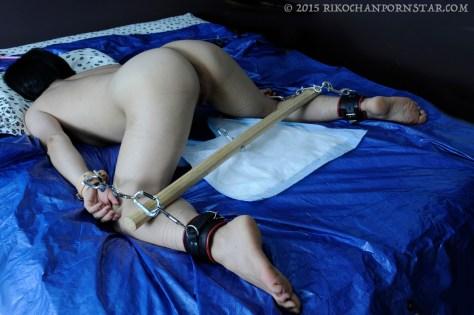 Rikochan in bondage