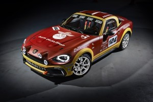 Abarth 124 Rally, 300 cv con tracción trasera y homologación FIA para 2017