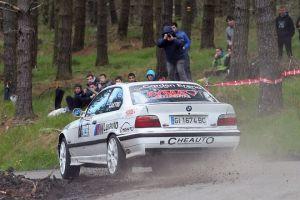 Aingeru Castro y Alaitz Urkiola repiten victoria en el XVII Rallysprint de Azpeitia